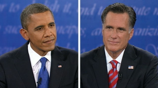 abc obama romney presidential debate 121022 wg Romney Supports Many of Obama's Foreign Policy Positions