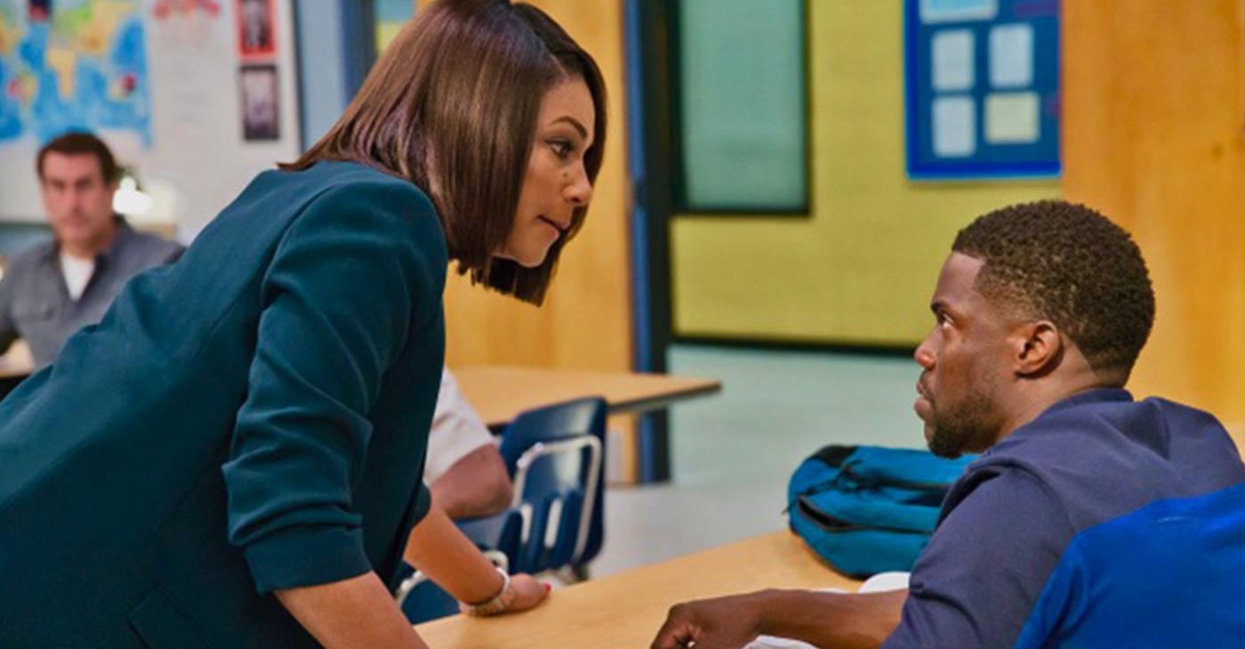 Kevin Hart and Tiffany Haddish in 'Night School'