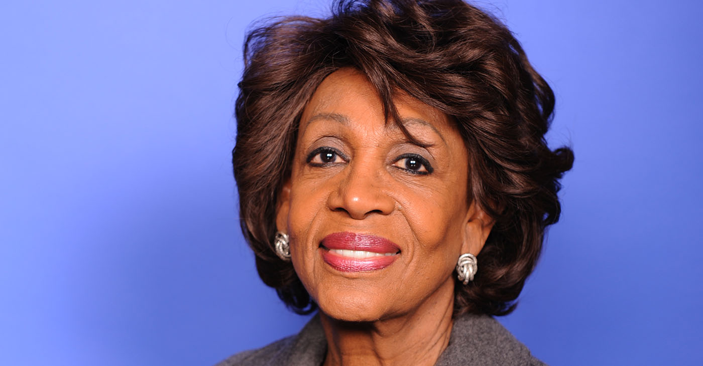 Congresswoman Maxine Waters (D-CA), Official photo / waters.house.gov