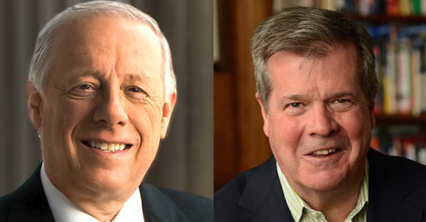 Phil Bredesen, left and Karl Dean