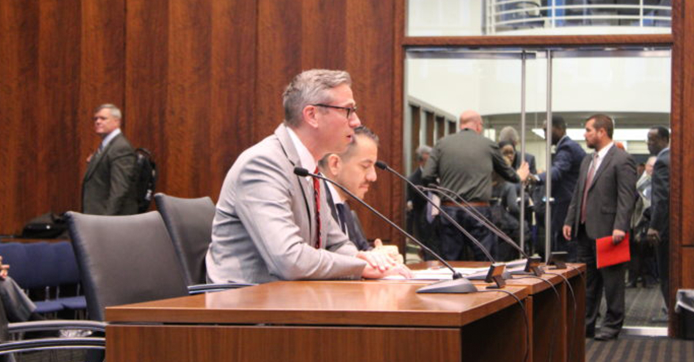 Treasurer Frerichs Testifiesbefore Senate Special Committee on State and Pension Fund Investments on strides to increase opportunity to minority investment firms