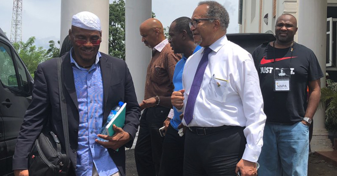 """""""It has truly been a blessing to be a part of this unique and meaningful pilgrimage to Ile-Ife, Nigeria,"""" said Dr. Benjamin F. Chavis, Jr., NNPA President and CEO."""