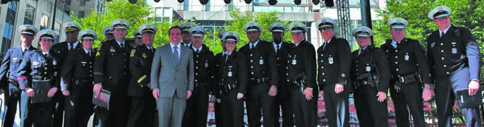 These officers were awarded Monday for their bravery and work on Sept. 6. Cincinnati Police Department Facebook Page