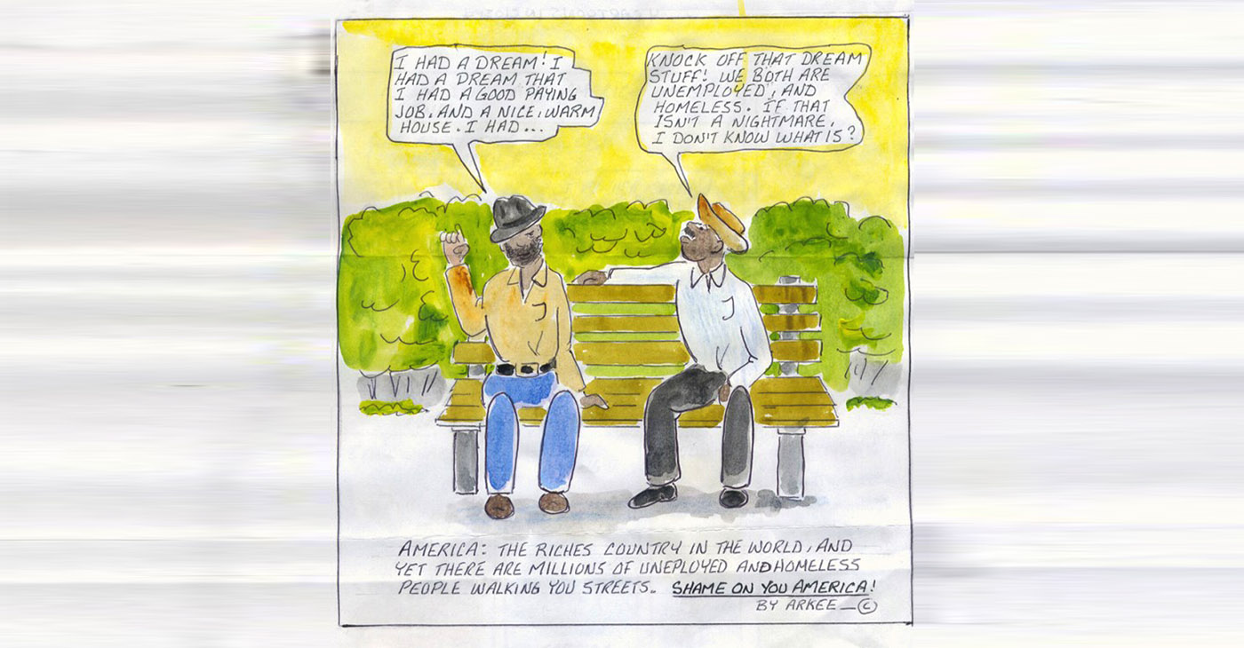"""I Had a Dream"" – Art: Arkee Chaney, A71362, P.O. Box 1327, Galesburg IL 61401"