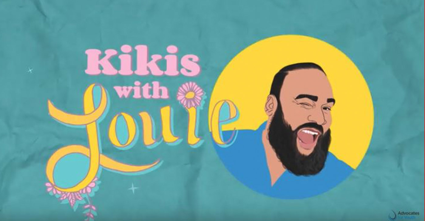 """""""Kikis with Louie"""", a new show targeting LGBTQ youth of color launches on Nov. 29 on YouTube. (Courtesy Image)"""