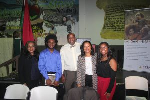The Panel – Houston Independent School District (HISD) Board President Rhonda Skillern- Jones, Texas Southern University (TSU) student and Forward Times intern Treyvon Waddy, Educator Larry McKinzie, and Community Activist Monica Riley and her daughter Chirelle Riley