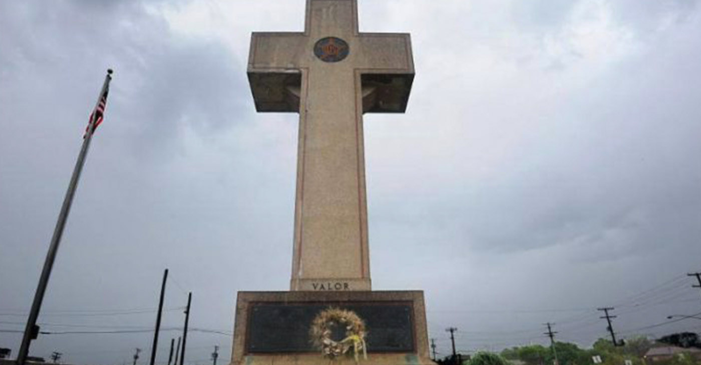Peace Cross, built to commemorate the lives of 49 soldiers from Prince George's County, Md. who lost their lives during World War I, is now being challenged as a violation of the Constitutional separation of church and state. (Courtesy Photo)