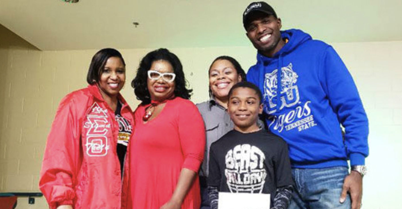 Shown (l-r) is Clara White Mission President/CEO Jucoby Pittman, Radio Personalities Kay Jay,