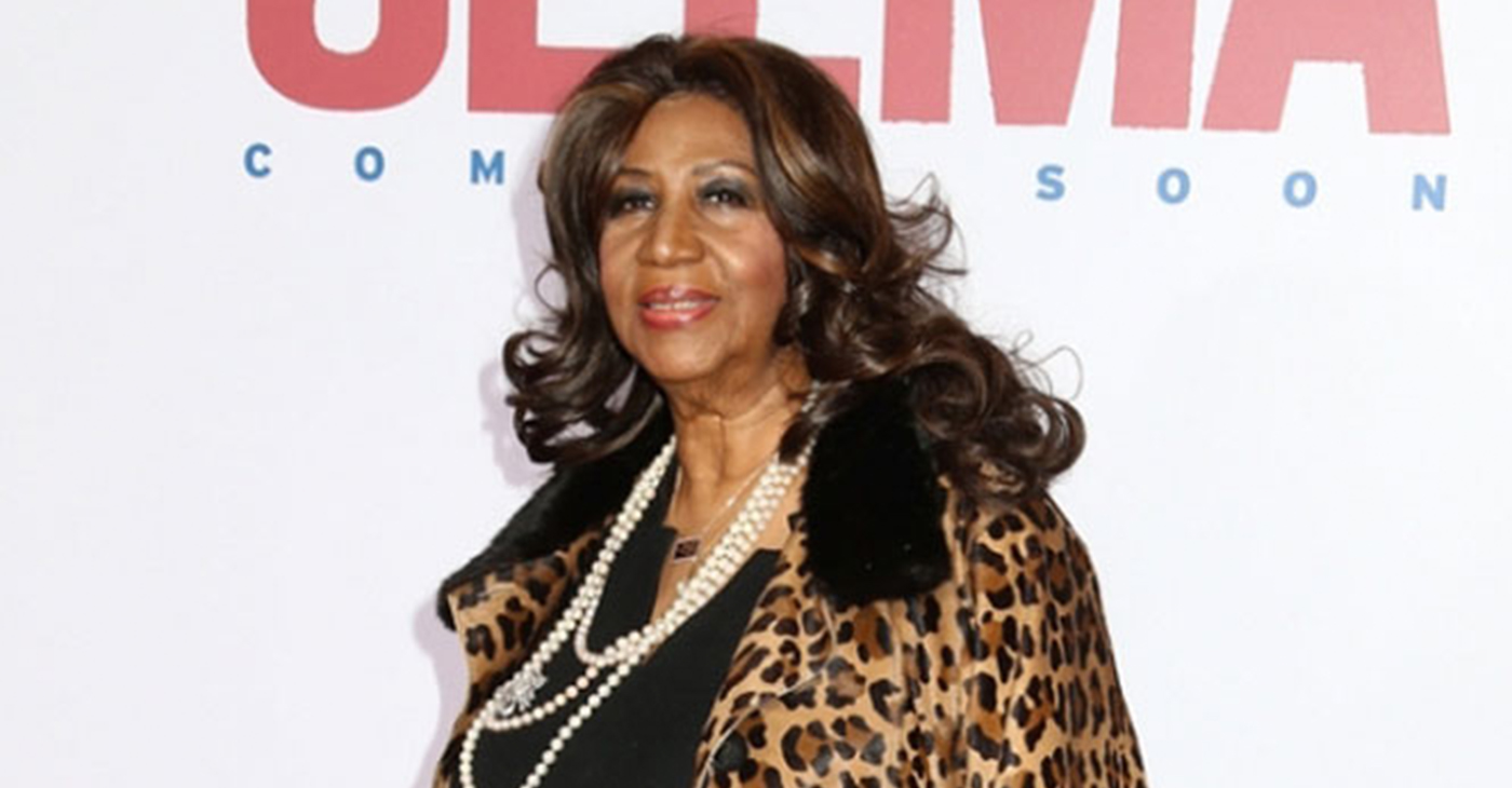 """Aretha Franklin attends the premiere of """"Selma"""" at the Ziegfeld Theatre on December 14, 2014, in New York City. (Photo credit: J Stone/Shutterstock)"""