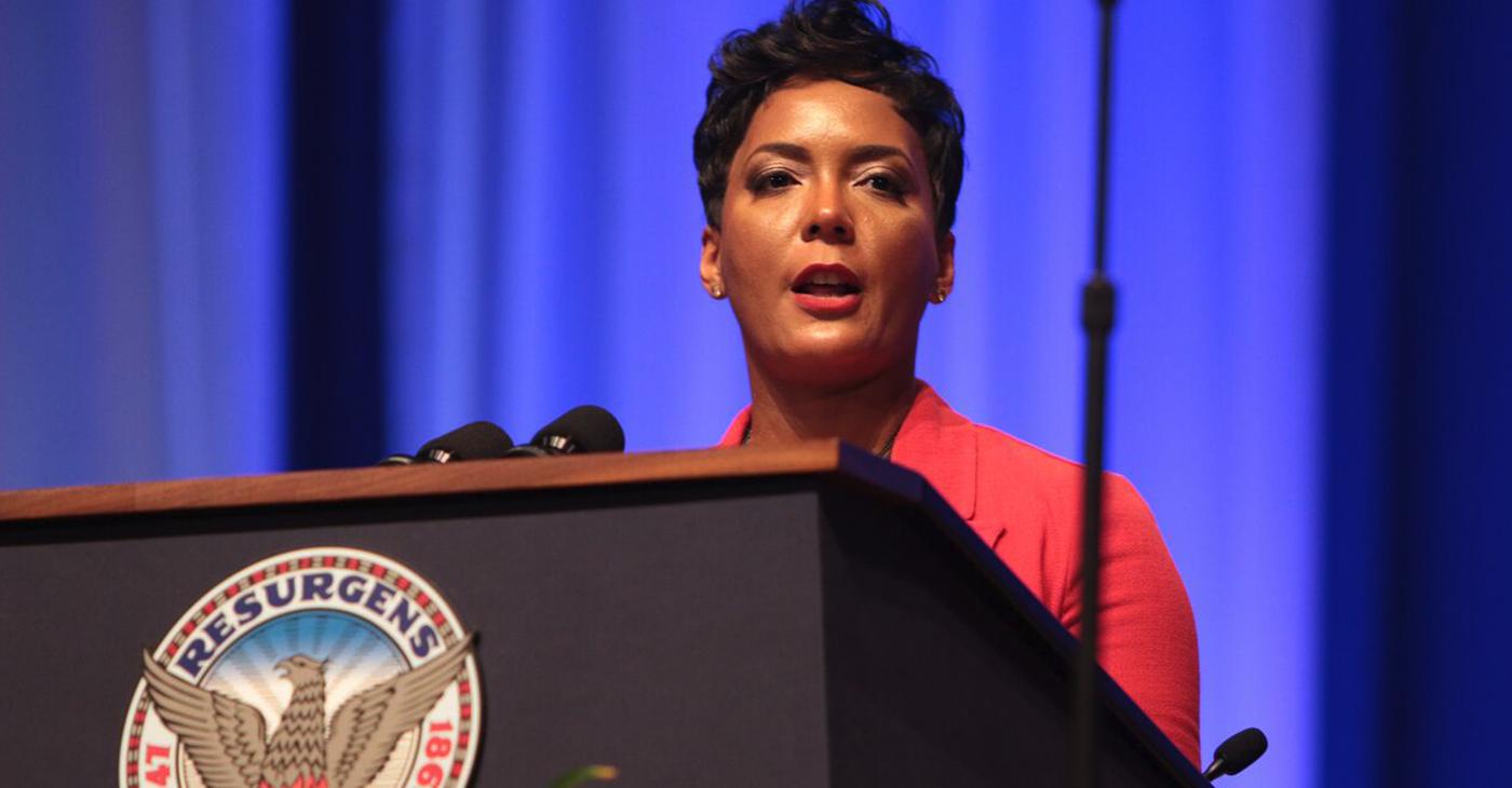File Photo: Atlanta Mayor Keisha Lance Bottoms. Photo by: Itoro N. Umontuen/The Atlanta Voice