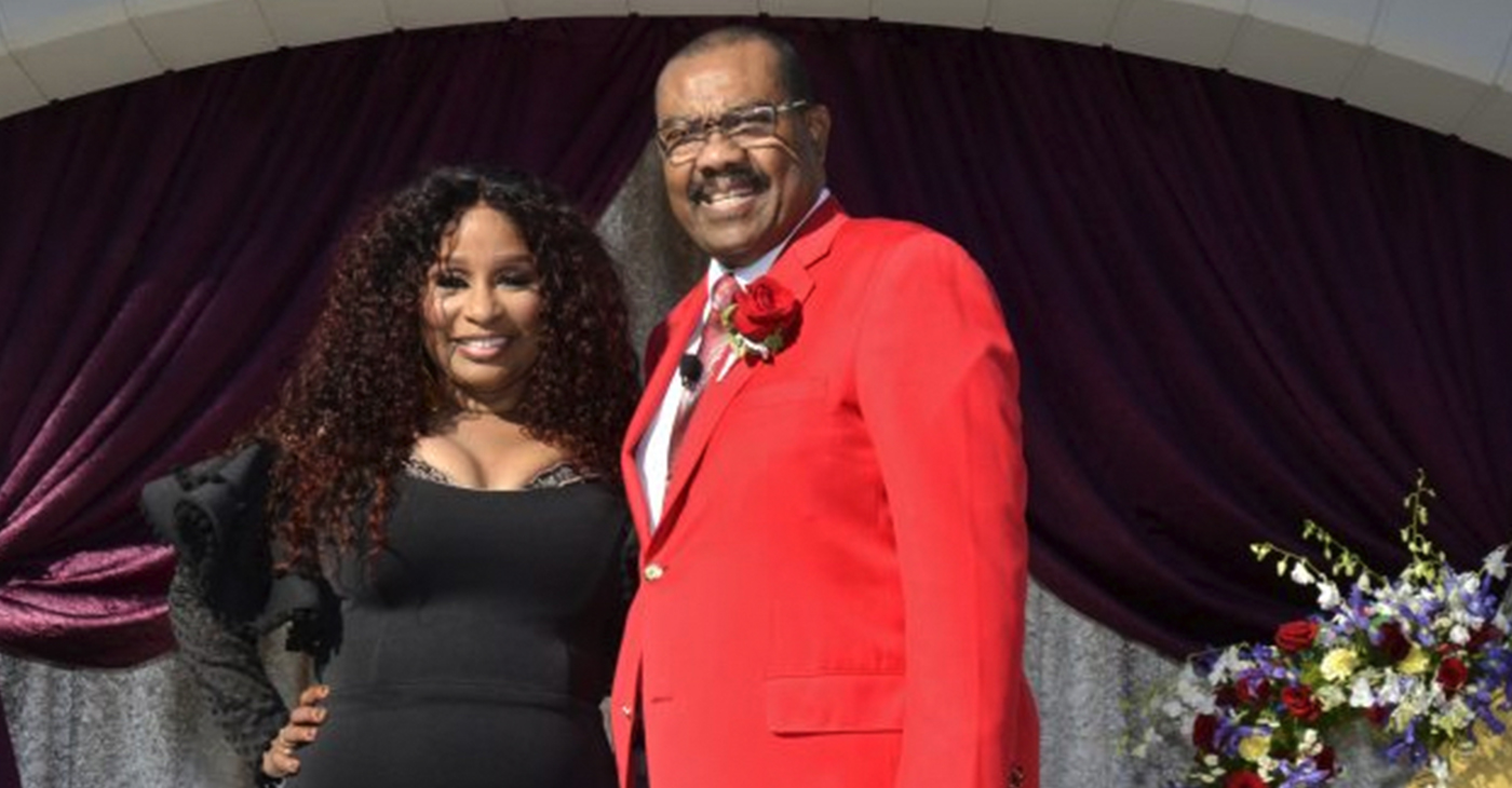 Chaka Khan and Gerald Freeny. (Tournament of Roses photo)
