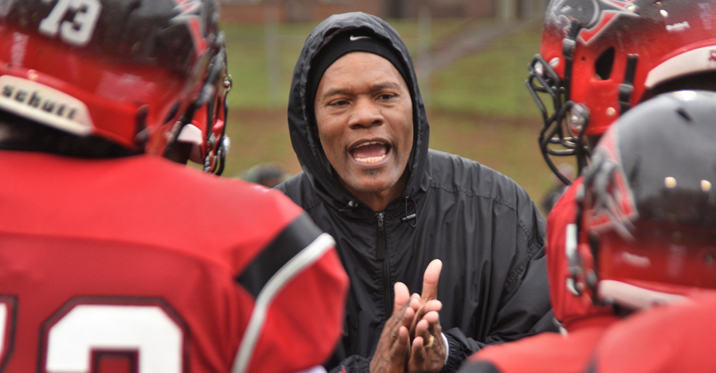 Coach Kevin Ramsey. Photo by The Atlanta Voice.
