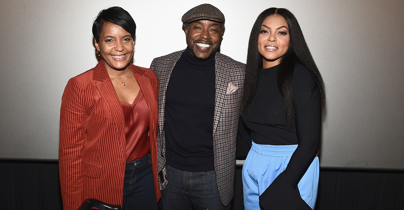 (L-R) Mayor of Atlanta, Keisha Lance Bottoms, Will Packer and Taraji P. Henson. (Photo by Marcus Ingram)