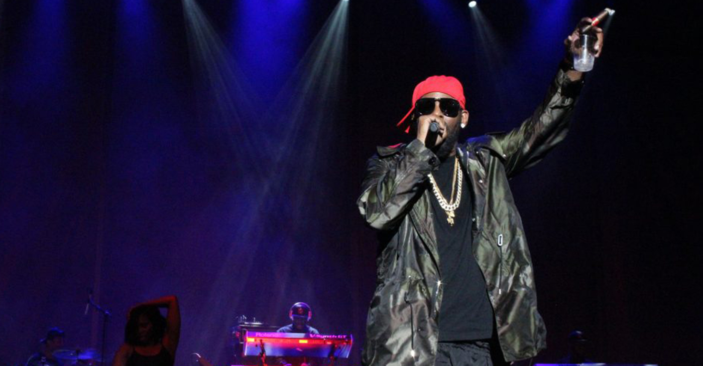"""R. Kelly at V103 Block Party in Chicago (Photo credit: Eddy """"Precise"""" Lamarre)"""