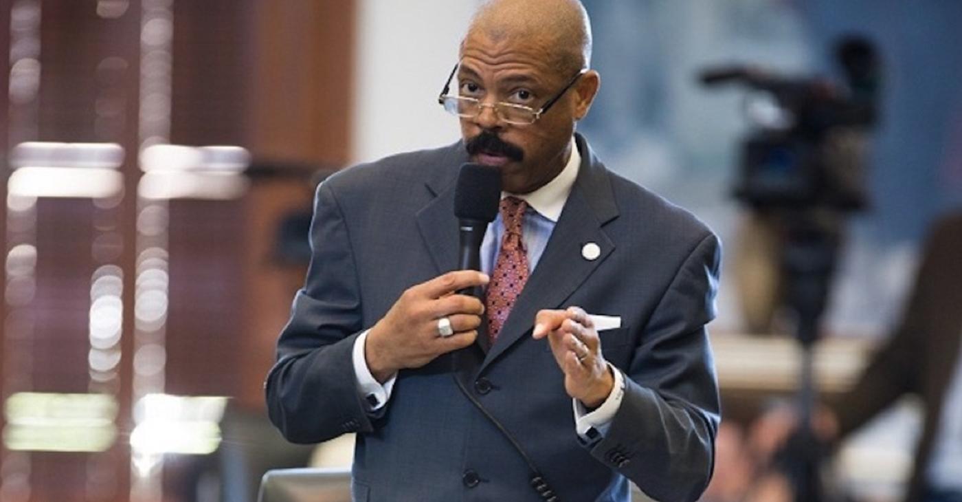 Caption: Texas State Senator Borris Miles