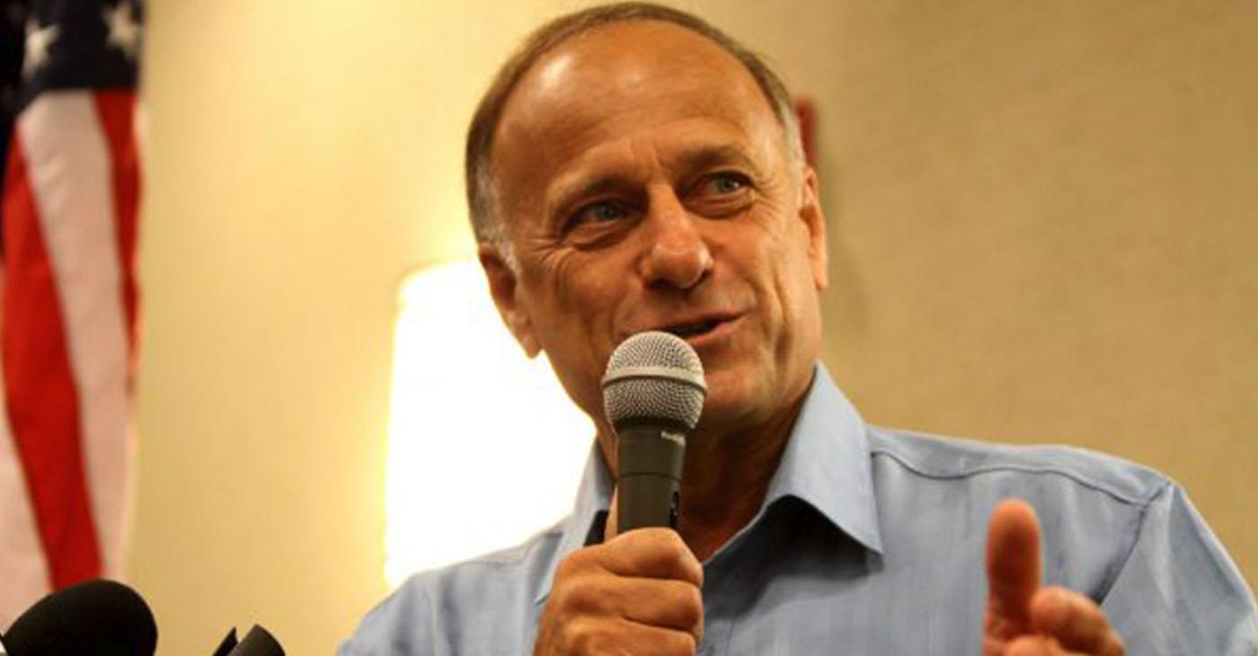 Rep. Steve King, Iowa Republican (Gage Skidmore via Wikimedia Commons)