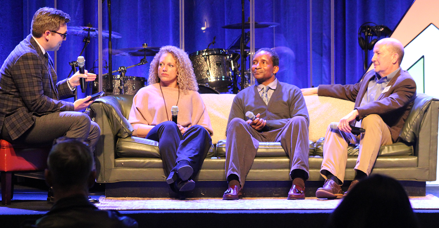 From right: Brent Leatherwood, Jessica Haney, Kenneth Tyrone King, Keith Stanley. (Ameera Steward, The Birmingham Times)