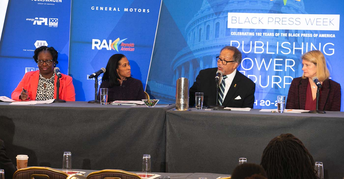 Lori Luck, the global medical director for Pfizer Rare Disease, joined Beverley Frances-Gibson, the president and CEO of the SCD Association of America; and Angie Snyder, a professor at Georgia State University, to discuss the latest in Sickle Cell Disease advocacy during Black Press Week in Washington, D.C.