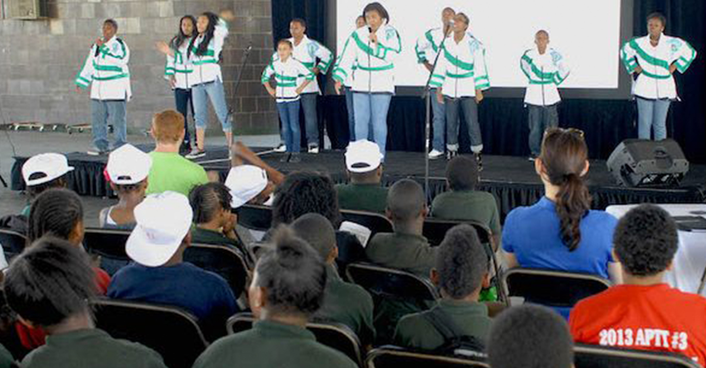 ENF Rangers perform, showcasing the importance of a healthy natural environment. (Courtesy photo)
