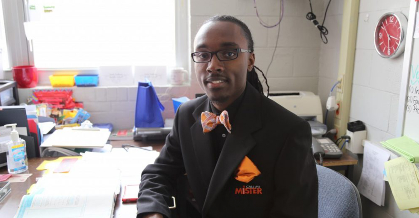 Jayuntay Williams was a 2013-2014 Call Me M.I.S.T.E.R participant. (Photo by: charlestonchronicle.net)