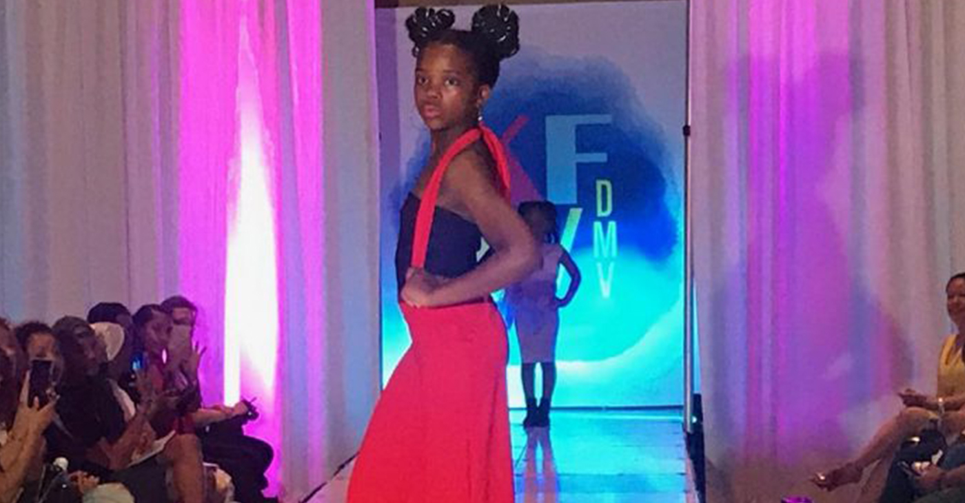 Kids Fashion Week DMV was held April 12-14. (Photo by: Micha Green)