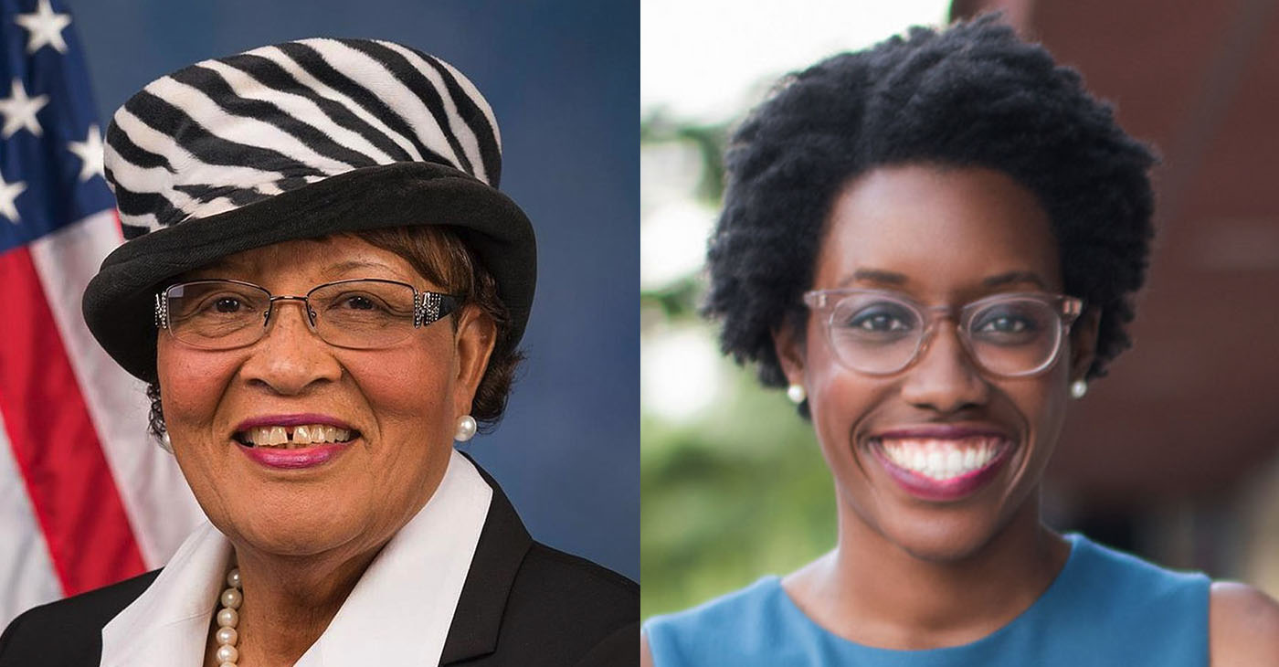 On April 9, freshman Congresswoman Lauren Underwood (right) joined Rep. Alma Adams and co-launched the first first-ever Black Maternal Health Caucus.