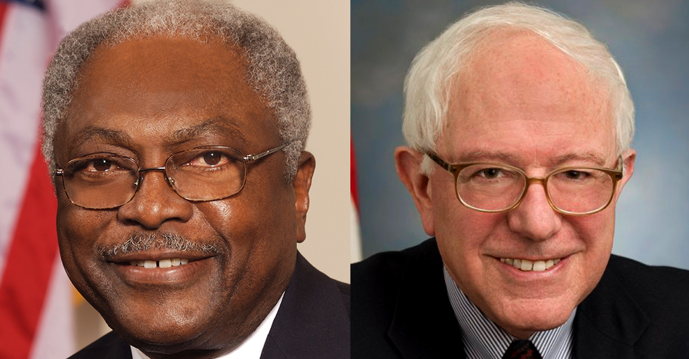 House Majority Whip James E. Clyburn (D-S.C., pictured at left) and Sen. Bernie Sanders (I-Vt.) announced legislation Thursday to extend and expand funding for community health centers and the National Health Service Corps.