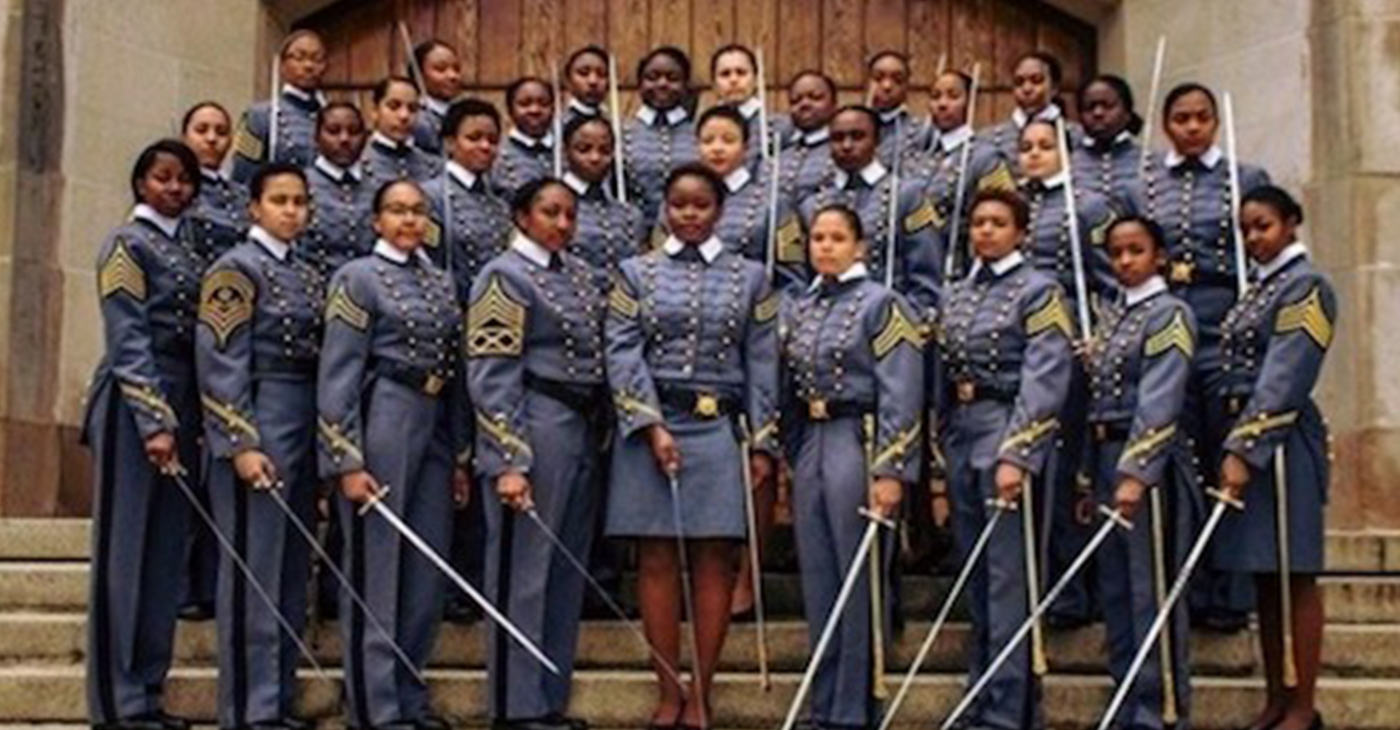 African American women cadets (Courtesy Photo)