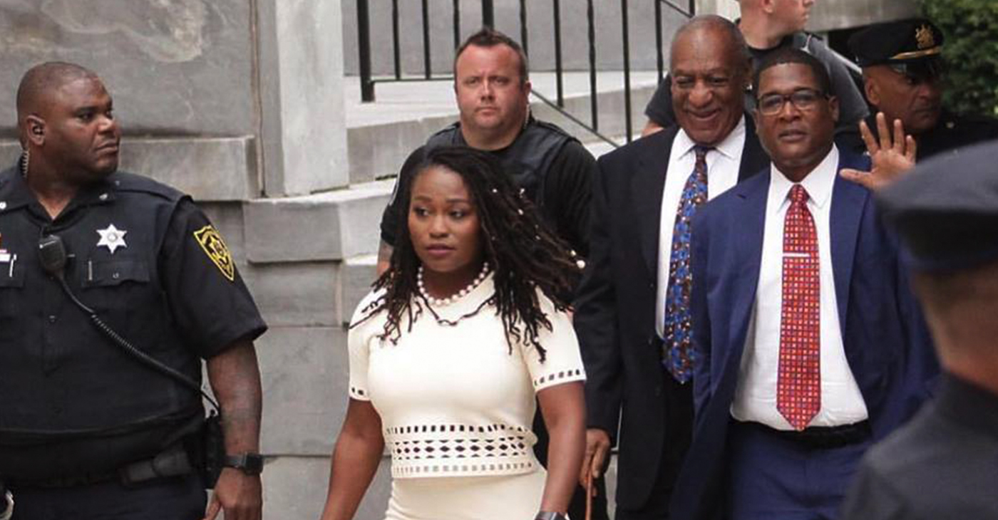 """""""I stand firmly with my wife on the foundation of solidarity and truth,"""" Cosby said."""