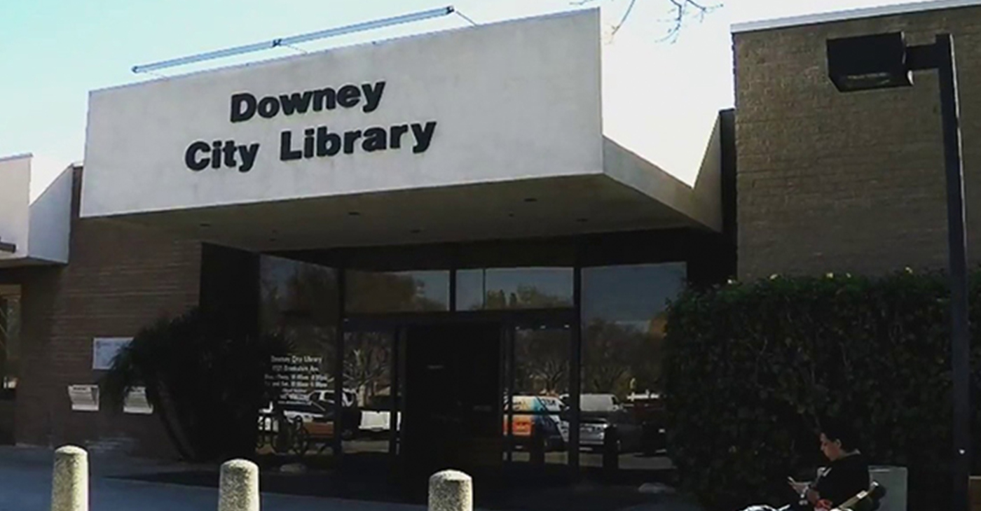 Downey City Library (Photo by: wavenewspapers.com)