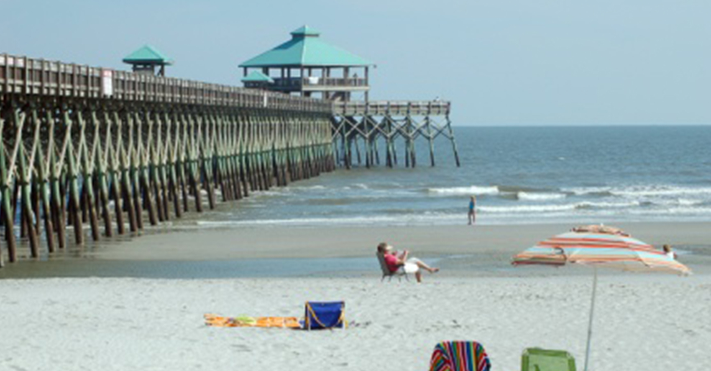 Folly Beach Fishing Pier (Photo by: charlestonchronicle.net)