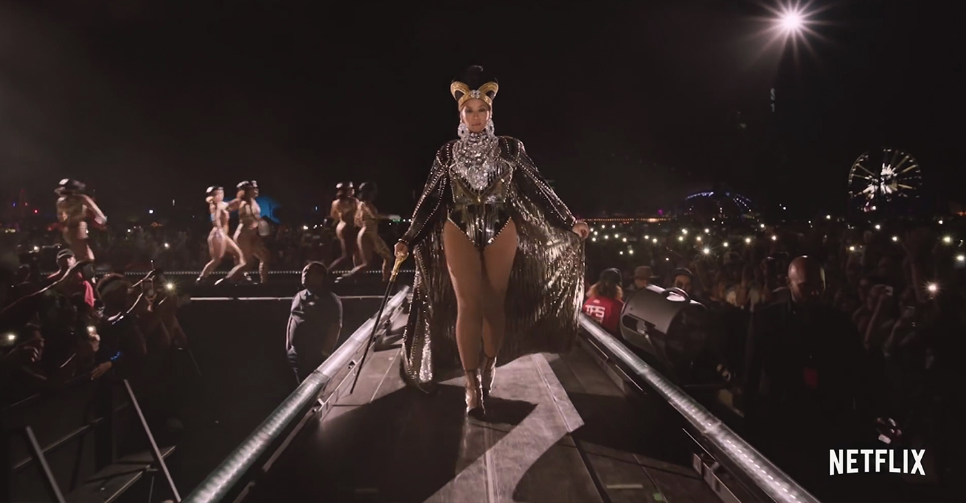 "When the trailer for 'Homecoming,' her Netflix documentary dropped, the first thing I heard was Dr. Maya Angelou saying: ""What I really want to do is be a representative of my race."" As if Queen Bey didn't already have my heart. (Screen Capture from 'Homecoming: A Film By Beyoncé,' Netflix/YouTube)"