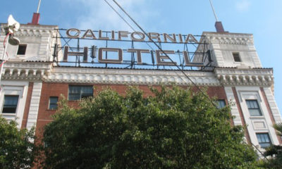 Community elders tell many stories about parties held at the once lavish landmark, the California Hotel, which is now affordable housing for 72 residents. The property owner stopped renting out new units last year and is now trying to intimidate those remaining into abandoning their homes even though no other affordable housing can be found in Oakland.