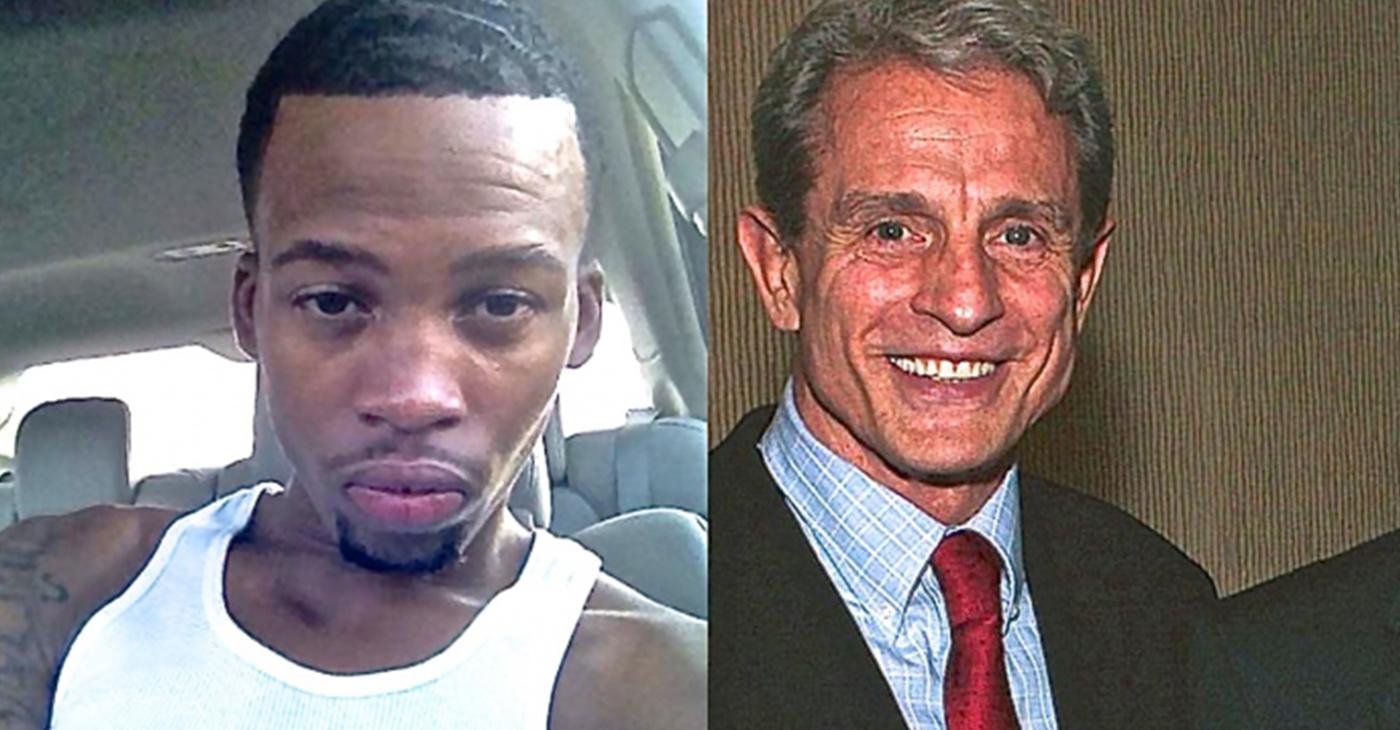 Gemmel Moore (left), 26, died of methamphetamine overdose in the home of political activist Ed Buck (right). (Facebook)