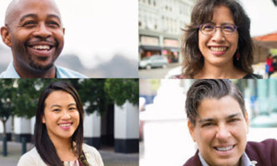 Clockwise from top, Councilmembers Loren Taylor, Nikki Fortunato Bas,Rebecca Kaplan, Sheng Thao, who introduced the budget that the Council passed on June 24.