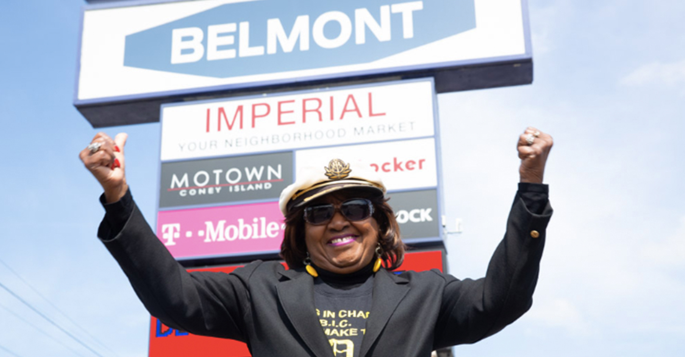 Activist Shirley Burch (Photo by: michiganchronicle.com)