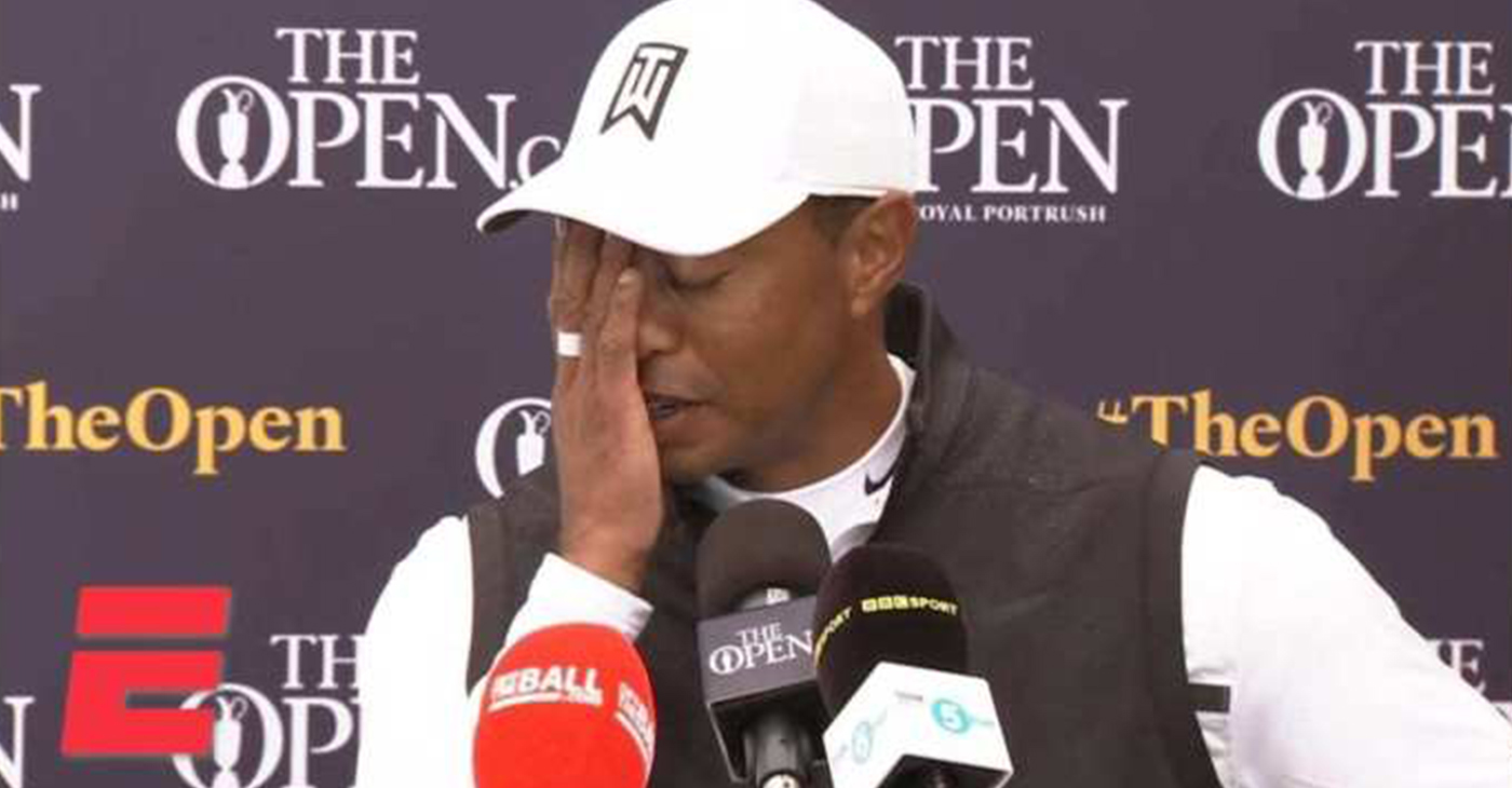 "Just months after winning The Masters, Tiger Woods did not make the cut at the British Open on July 18, and immediately announced he'd skip the FedEx St. Jude World Golf Championships. ""There's been a lot of travel, a lot of time in the air, a lot of moving around, different hotels,"" Woods said. ""I just want to go home."" (Photo: Youtube)"
