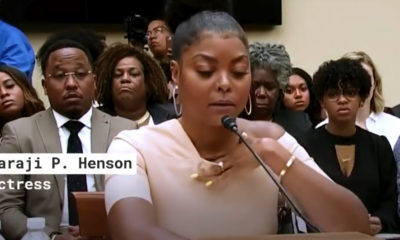Award-winning actress and Empire star Taraji P. Henson testified before members of Congress on mental health issues in the African American community. (Photo: YouTube)