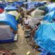 Homeless encampments have spread across the state. (Photo courtesy Santa Rosa Press Democrat.)