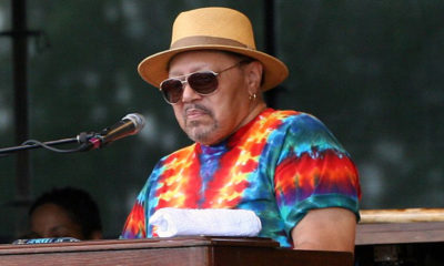 Art Neville performing with The Funky Meters at the New Orleans Jazz & Heritage Festival (Photo by: Robbie Saurus | Wiki Commons)