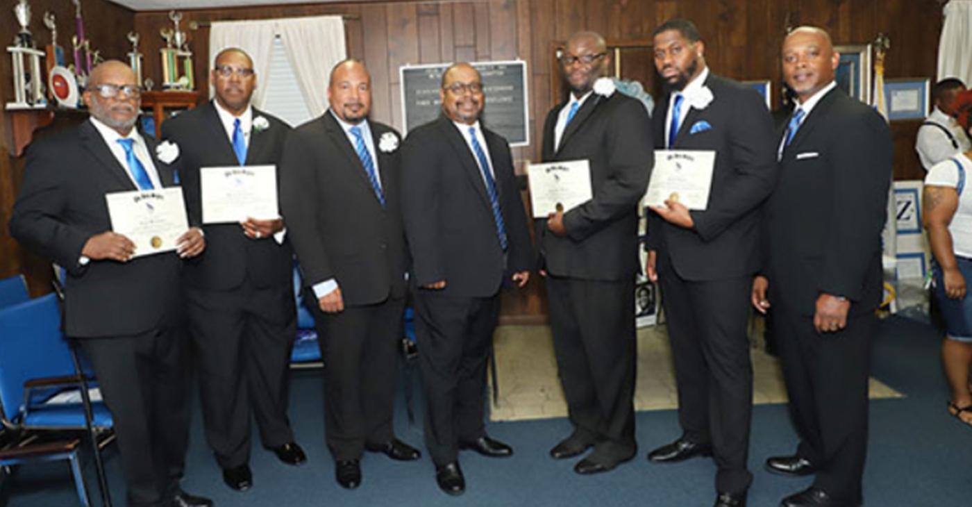 Phi Beta Sigma Adds a Few Good Men to Its Rolls - BlackPressUSA