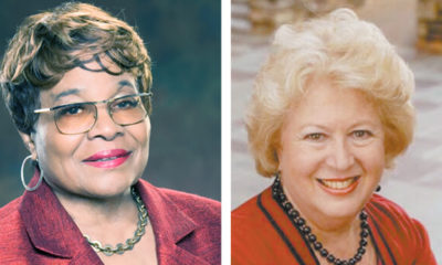 (l-r) Rosetta Miller Perry and Jocelyn D. Wurzburg