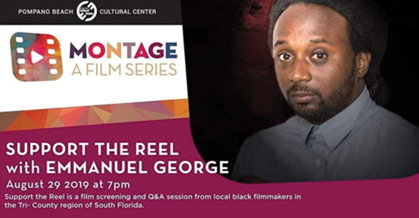 Support the Real will be Moderated by Emmanuel George (Photo by: pompanobeacharts.org)