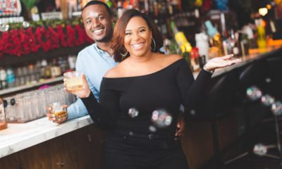 Olivia and Marcus Barnes Deliver With Full Bar Catering Service (Photo by: Infinite Creation Images)