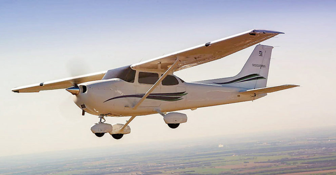 Between now and September 2022, Embry-Riddle will purchase at least 60 new Skyhawk aircraft from Textron Aviation, Inc. (Photo Courtesy Of Textron Aviation)