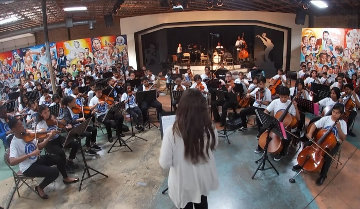 WWC Youth Symphony performs at their mid-year recital 2019. (Photo courtesy of WWC.)