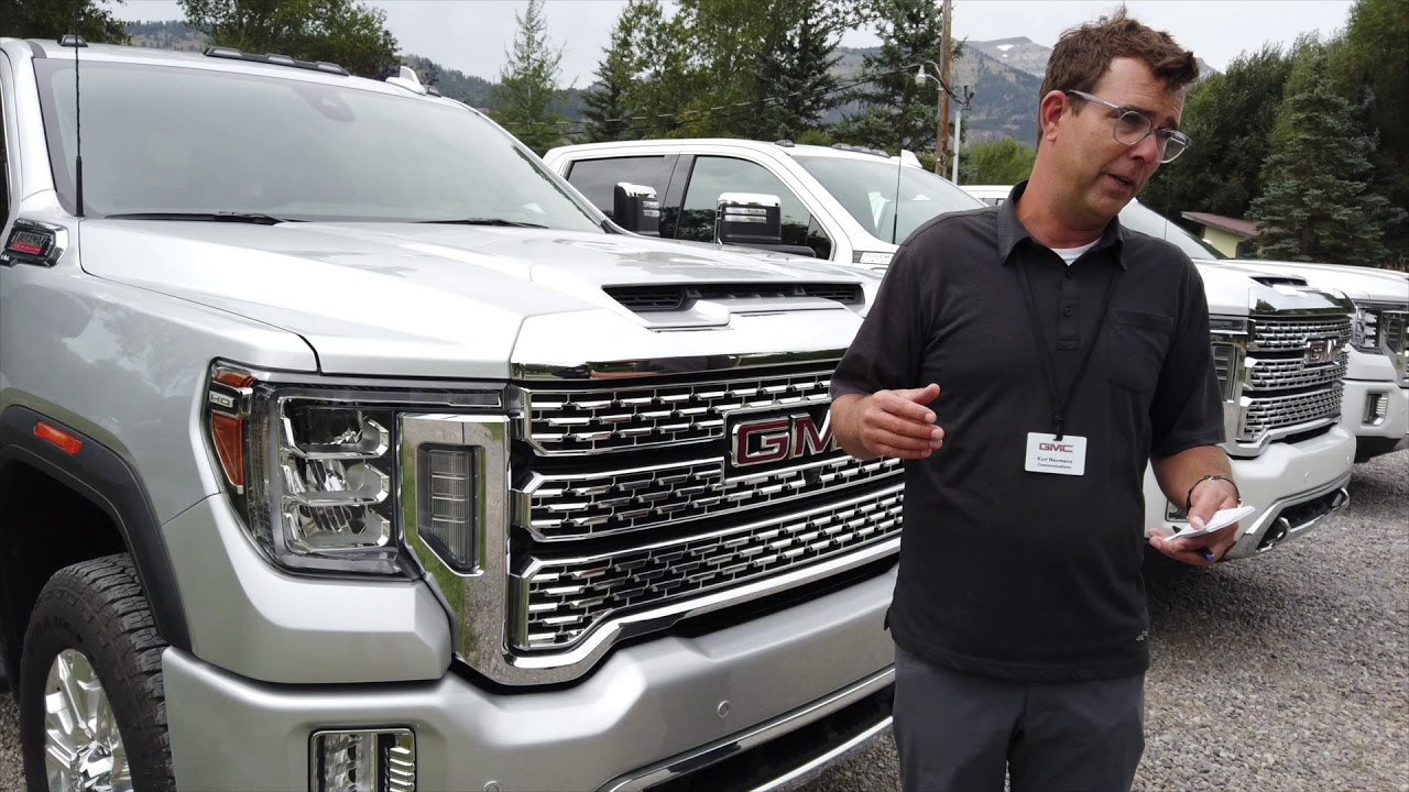 2020 GMC Sierra HD and LD 3.0L Duramax Diesel On The Road