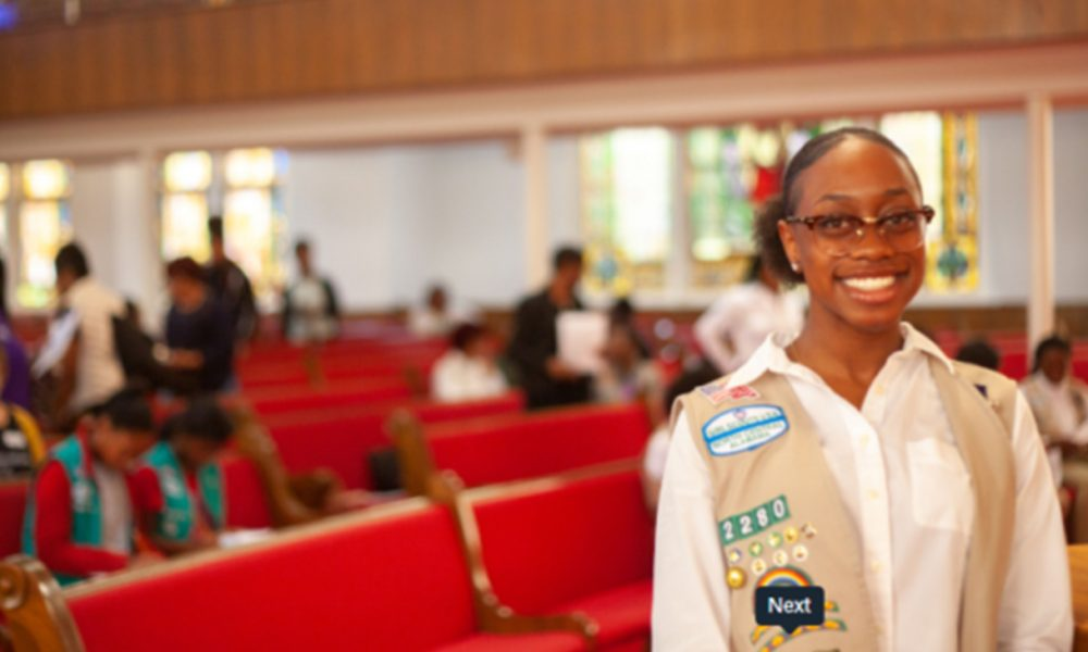 PRESS ROOM: Girl Scouts Honor Area Teen with Highest Award - BlackPressUSA