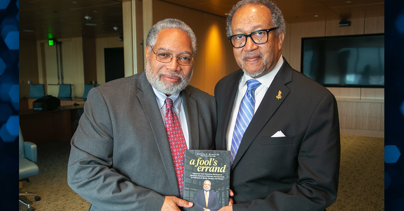 Black Press Exclusive: Dr. Lonnie Bunch's African American Museum Dream Fulfilled - BlackPressUSA