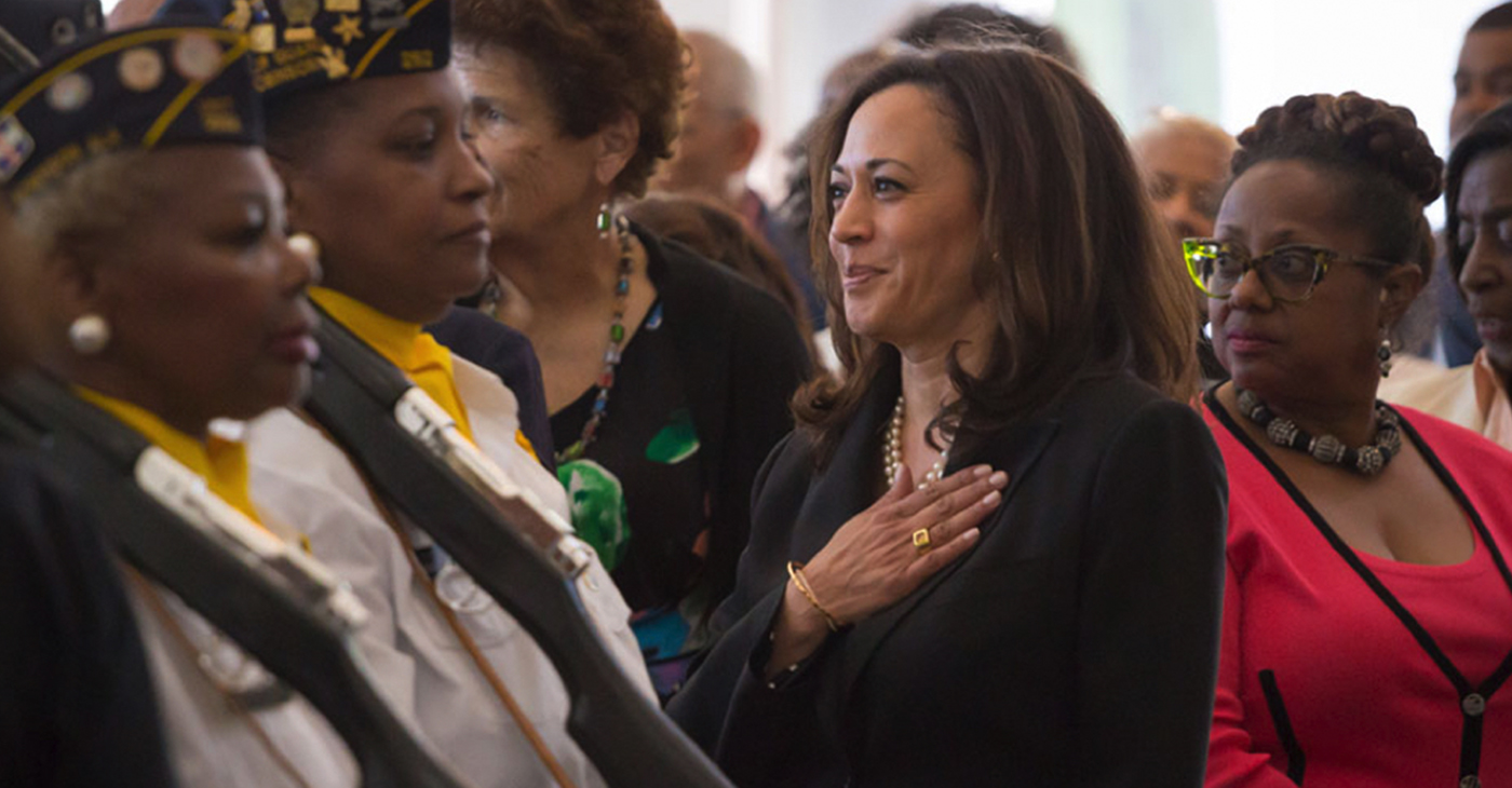 U.S. Senator Kamala Harris (Photo: Office of Senator Kamala Harris / Wikimedia Commons)